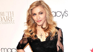 """NEW YORK, NY - APRIL 12: Singer Madonna Launches Her Signature Fragrance """"Truth Or Dare"""" By Madonna Macy's Herald Square on April 12, 2012 in New York City. (Photo by Stephen Lovekin/Getty Images) *************GETTY SUBSCRIPTION IMAGE********"""